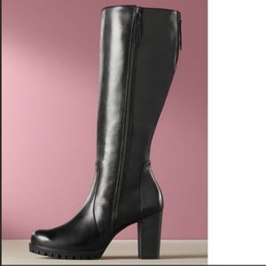 Paul Green Felicia Tall Black Boots